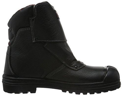 MTS Sicherheitsschuhe Mts Nitril Vesuve S3 Ük 7317, Chaussures de sécurité mixte adulte, Noir, 41