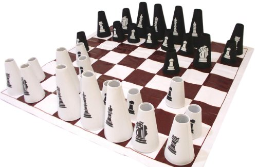 American Educational Products Chess Set with Cone Checker