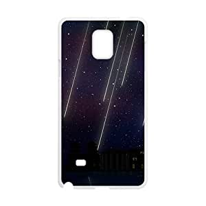 BeautifuL Star Raining White Phone Case for Samsung Galaxy Note4