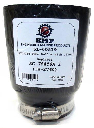 Exhaust Tube Bellows - EMP - MerCruiser Alpha/Bravo - Replaces 78458A1, 18-2760 ()