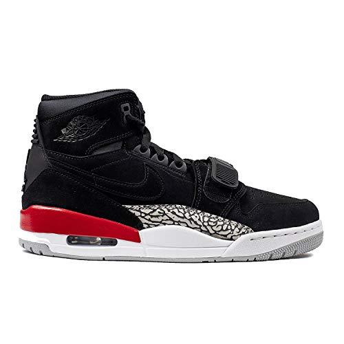Nike AIR Jordan Legacy 312 Mens Basketball-Shoes AV3922-060_11.5 - Black/Black-FIRE RED