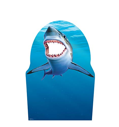 Advanced Graphics Shark Stand-in Life Size Cardboard Cutout Standup -