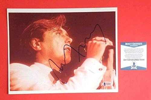 Roxy Music - Bryan Ferry Autographed Signed Memorabilia 8x10 Photo Certified With Bas COA PSA/DNA JSA