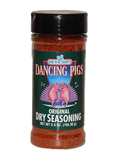 The Bar-b-q Shop's Dancing Pigs Original Dry Rub Seasoning Memphis Original