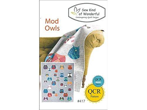 Sew Kind Of Wonderful Qcr Mod Owls Ptrn