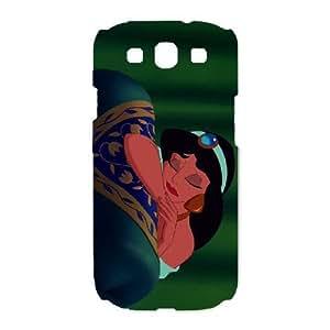 Samsung Galaxy S3 I9300 Phone Case White Aladdin Princess Jasmine KLI5092005