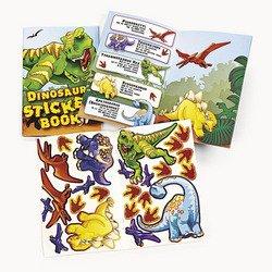 Dinosaur Party Stickers - Dinosaur Sticker Books (12 Pack) 24 Stickers Each