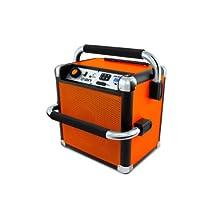 ION IPA30 Job Rocker Smaller Jobsite Bluetooth Radio, Orange
