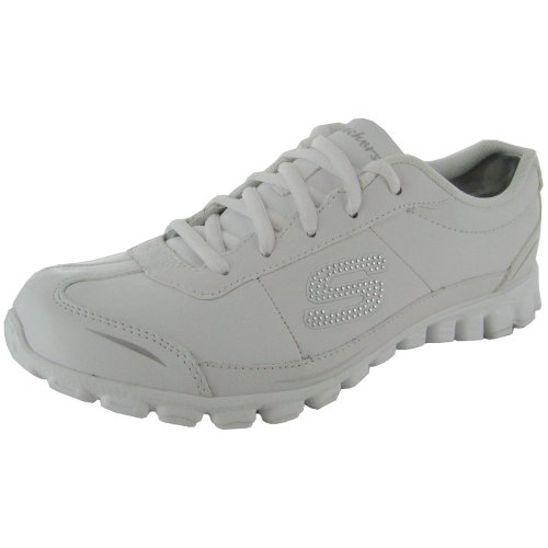 Skechers Womens Casual Casual Athletic Shoe White