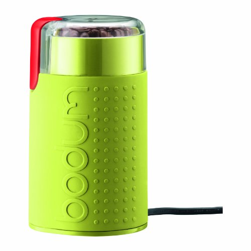 Bodum Bistro Electric Blade Coffee Grinder, Green by Bodum