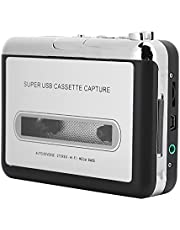 Cassette Player, Universal Cassette Recorder Radio Player Walkman with 3.5mm Audio Jack USB Operated Portable Tape Player Cassette to Digital/MP3 Converter for Tape Cassette Tape Lover