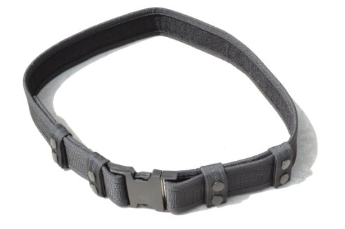 Black Nylon Swat Belt (Explorer Tactical Deluxe Black Nylon Tactical Police SWAT EMT Security Adjustable Belt)