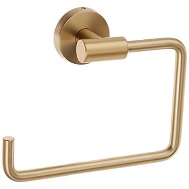 Amerock BH26541BBZ Arrondi 6-7/16in(164mm) LGTH Towel Ring - Brushed Bronze