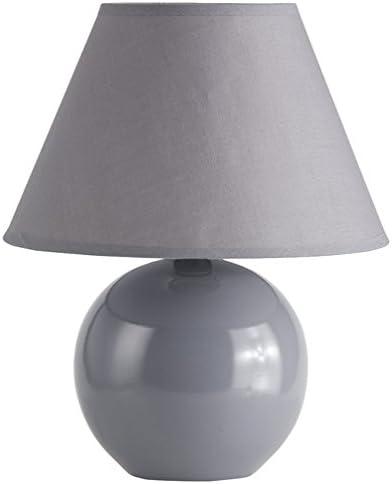 Lámpara de mesa  color gris oscuro - Cerámica moderna