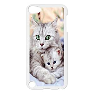 High Quality Phone Back Case Pattern Design 15Grumpy Cat,Because Cats- FOR Ipod Touch 5