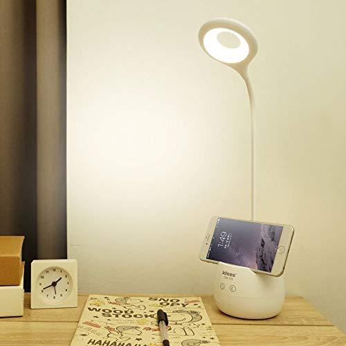 LMDH Creative Pen Holder Desk Lamp Student Charging Dormitory Learning Led Children Reading Creative Lights