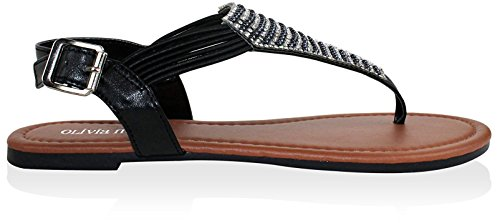 Olivia Black Miller Potenza Women's Sandal qqrxw4HZB