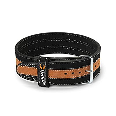 GASP Power Weight Belt, Black/Flame, XX-Large