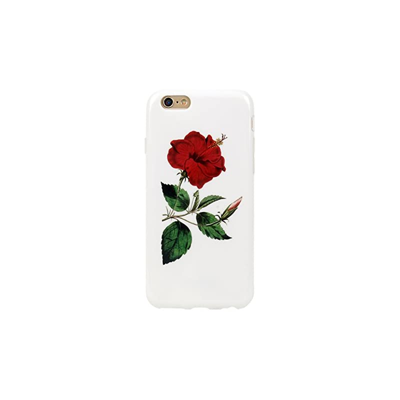 iPhone 6 6s Case for girls,Leminimo Flor