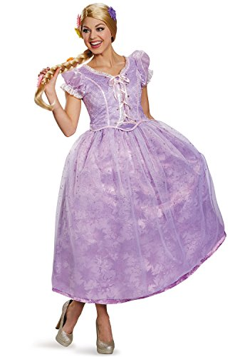 Disney Women's Tangled Rapunzel Ultra Prestige Costume, Purple, Small -