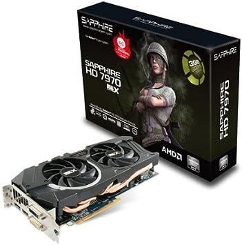 Amazon.com: Sapphire Radeon HD 7970 OC con Boost 3 GB ddr5 ...