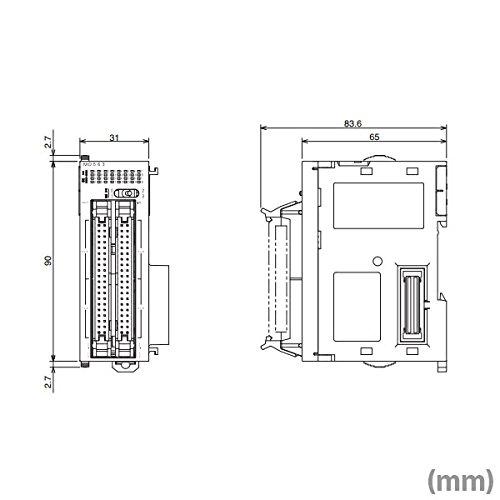 OMRON CJ1W-OD263 Transistor Output Units 12 To 24 VDC 64 Outputs Sinking NN