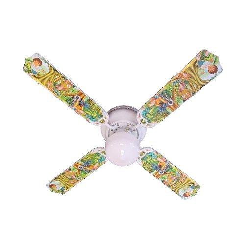 Ceiling Fan Designers Ceiling Fan, Go Diego and Dora, (Designer Hugger Fan)
