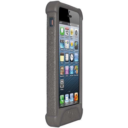 Amzer Silikon-Schutzhülle für iPhone 5, Grau