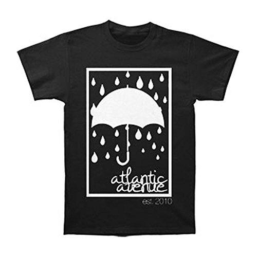 Atlantic Avenue Men's Umbrella T-shirt Large - Atlantic Avenue E