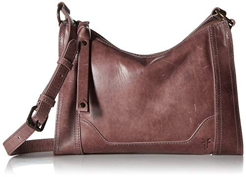 FRYE Melissa Zip Leather Crossbody Bag, lilac from FRYE