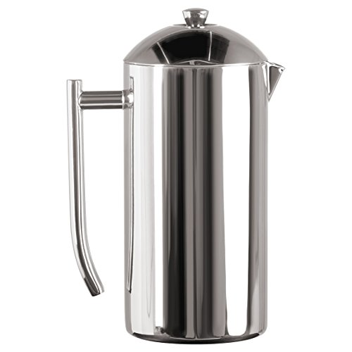 Frieling French Press Polished Finish Mirrored Finish Coffee Press 44 oz by Frieling