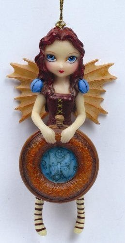 Strangelings Mechanical Angel 1 Ornament 8033 By Jasmine Becket Griffith by Pacific Trading