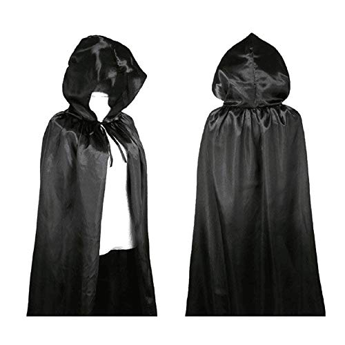 MEANIT Hooded Cloak Long Cape for Christmas Halloween