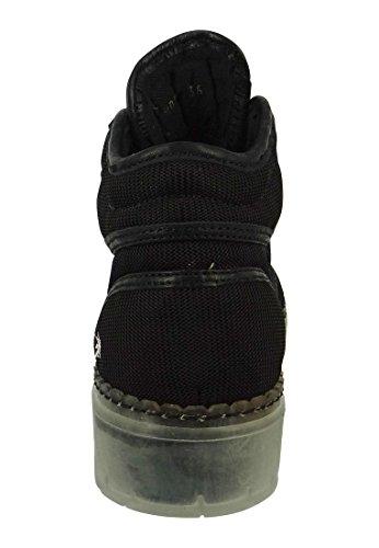 Zapatos del arte de la Mujer Botas Bota Alpine 20 Negro Negro - 0808, ART Schuhe Damen:38
