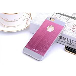 PG Metal Protective Moshi Double Color Sense of Vertical Stripes for iPhone 6 Plus (Gray)