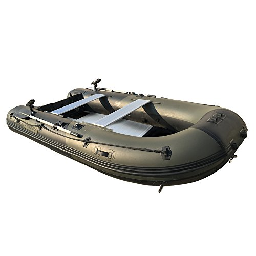 AQUOS 1 2mm PVC 9 8'inflatable Boat Fishing Boat Tender Dinghy Kayak Zodiac  Avon Type - MasterBasser