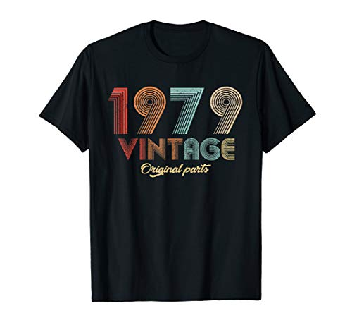 40th Bday Party Ideas For Him (40 years old 40th B-day Birthday Gift Vintage 1979)