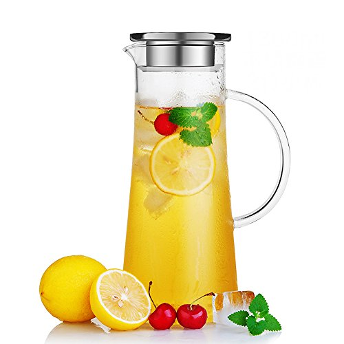 glass infuser pitcher
