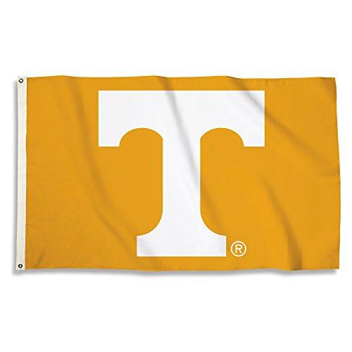 (NCAA Tennessee Volunteers 3 X 5 Foot Flag with Grommets, Tennessee Orange,)