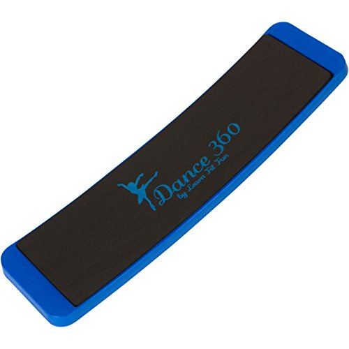 Dance 360 Budget Ballet Training Board For the Perfect Pirouette. Quality Spin and Turn Trainer for Amateur Dancers, Cheerleaders, and Ice Skaters at an Affordable Price (Blue)