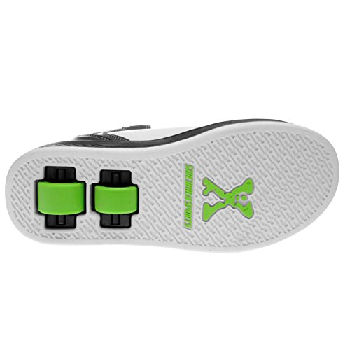 Zapatos Zapatillas Chico verde Deporte Skate Ninos Sidewalk Junior Blanco Calzado Top negro Hi 0ZpUqf