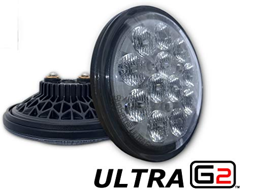 LED Aircraft Taxi/Recognition Light | PAR36 Size | Aero-Lites SunSetter Ultra GEN2 | 3,000LM | 9-32VDC