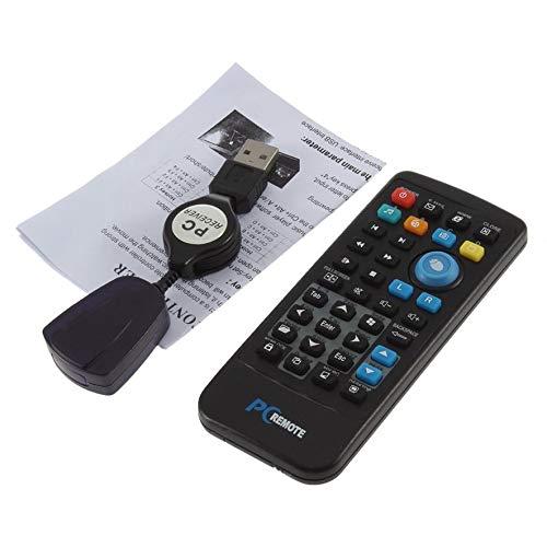 (AdaAda Wireless PC USB Windows Media Center Remote Control Controller Up to 18M)