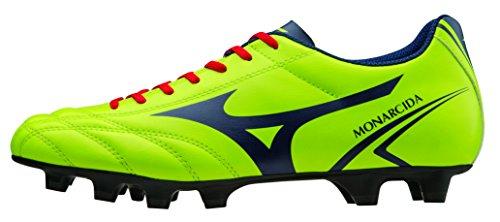 Mizuno Chaussures Football Officials 2015/2016 Monarcida MD P1GA152437 Lime Navy 42.5