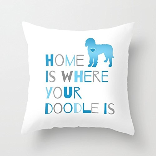 Loveloveu Dogs Throw Pillow Covers 18 X 18