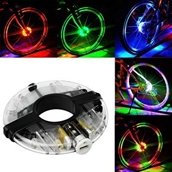 Automobiles & Motorcycles 14 Led Motorcycle Cycling Bicycle Bike Wheel Signal Tire Spoke Light 30 Changes 3 Modes Bicycle Spoke Light Free Shipping #30 Online Shop Electric Vehicle Parts