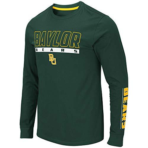 Colosseum Mens Baylor Bears Guam Long Sleeve Tee Shirt - L