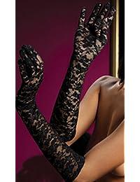 Seven Til Midnight Women's Lace Elbow Length Gloves