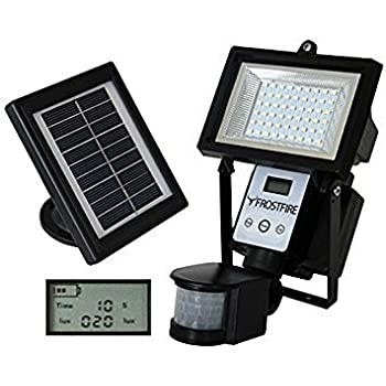 Frostfire Digital 80 Led Ultra Bright Solar Powered Motion