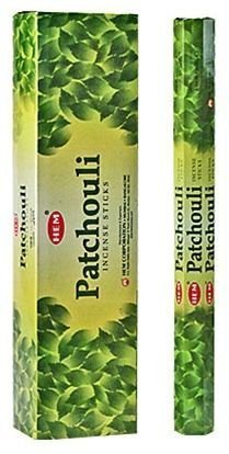 Patchouli - Hem Jumbo 16 Inch Incense Sticks 10 Stick Hexagon Box (Set of 6)